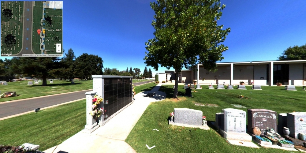 East Lawn Elk Grove - Cemetery Software 360 Ground Level Mapping