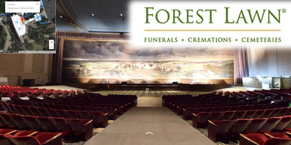 Forest Lawn Indoor 360 Cemetery Software Mapping