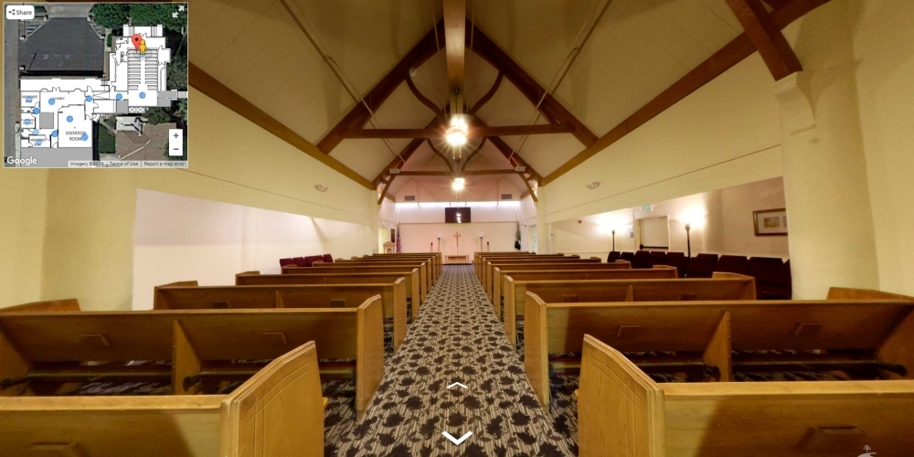 Forest Lawn Indio Funeral Home - Cemetery Software 360 Ground Level Mapping