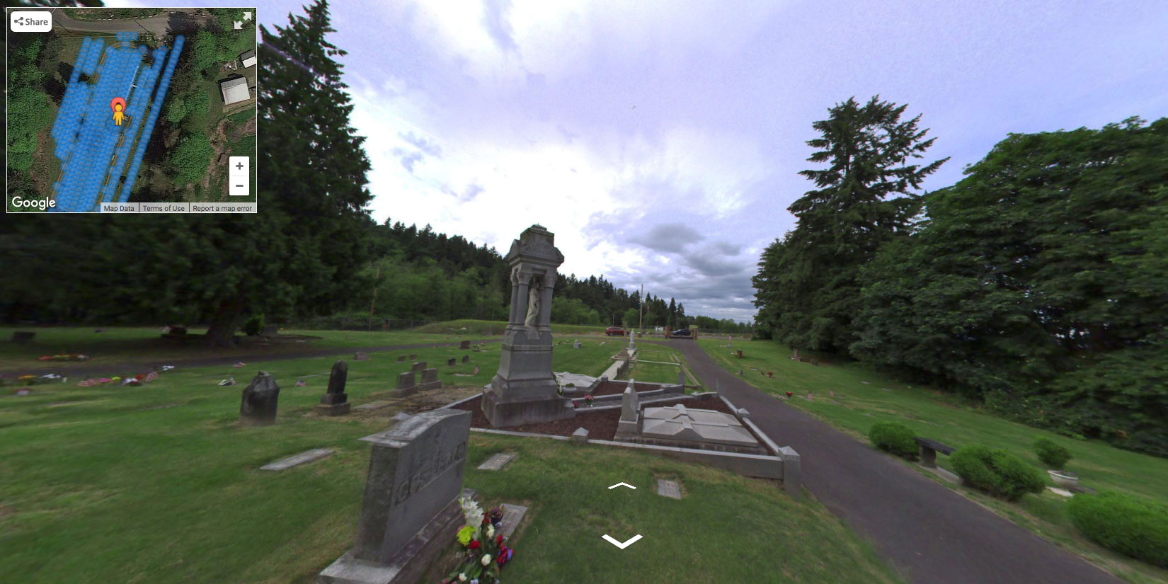 Cemetery 360 Software Seattle St. Patrick Cemetery Mapping