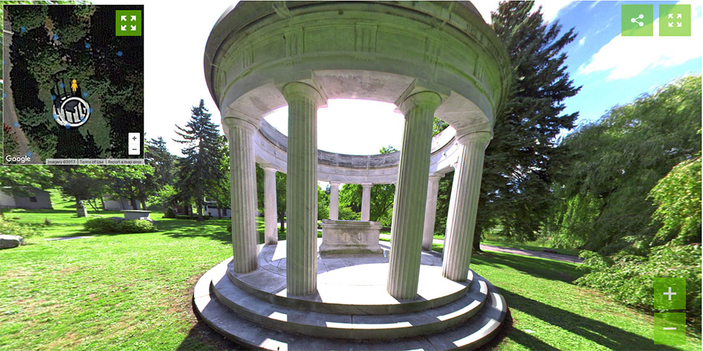 Forest Lawn Buffalo, NY - Cemetery 360 Ground Level Mapping