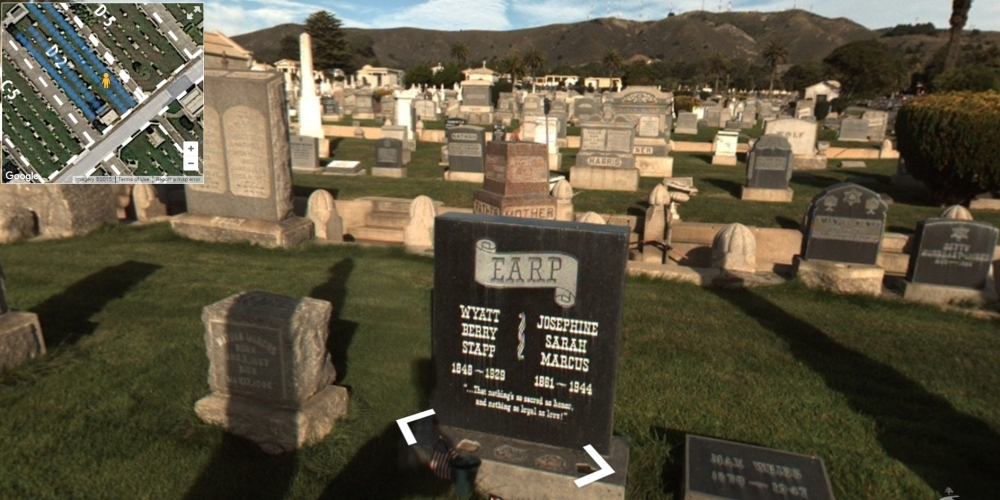Wyatt Earp – Cemetery 360 Ground Level Mapping ... on military mapping, forest mapping, tree mapping, community development mapping,