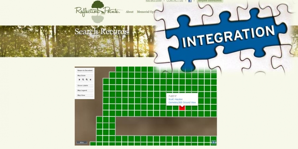 GIS Mapping Integration – Reflection Pointe – Cemetery ... on